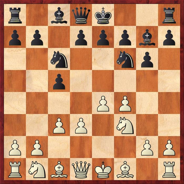 Position after 5. ... Bg7