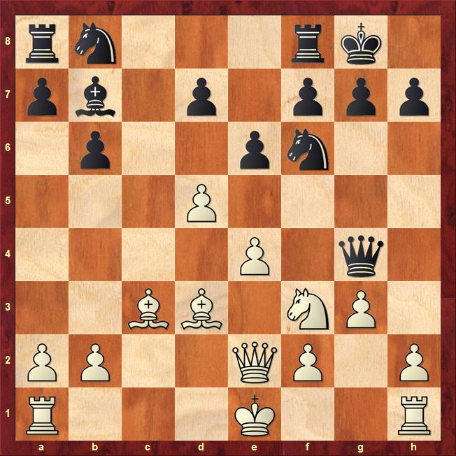 Position after 12...Qg4
