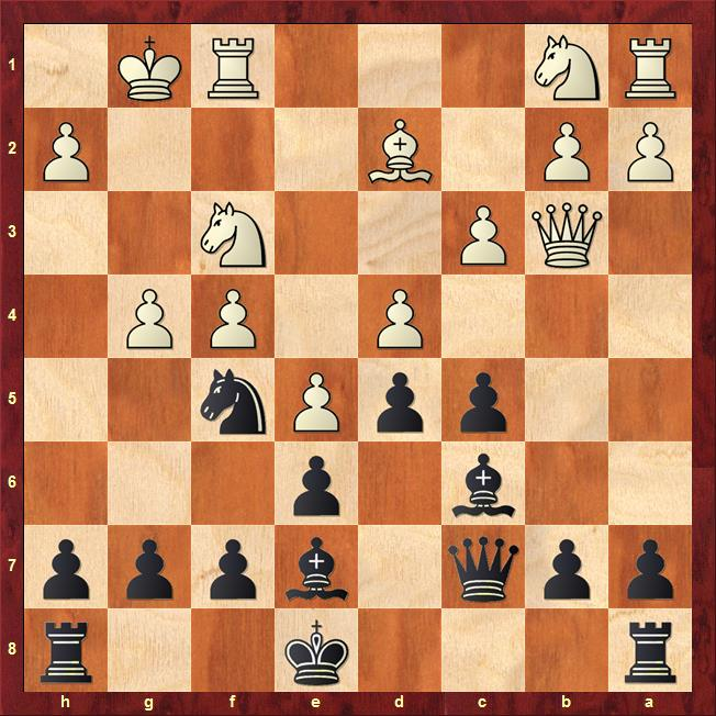 Position after 12.g4