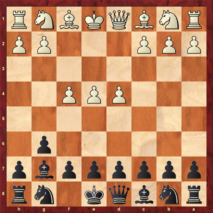 Position after 3.f4