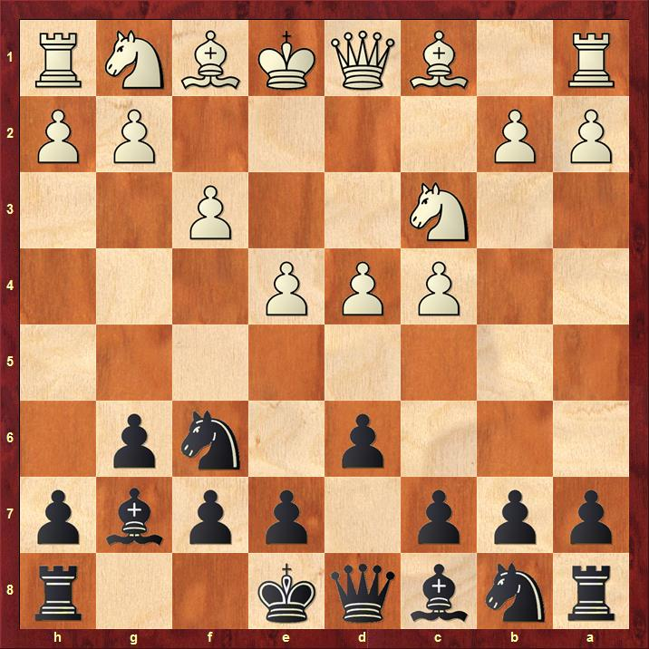 Position after 5.f3