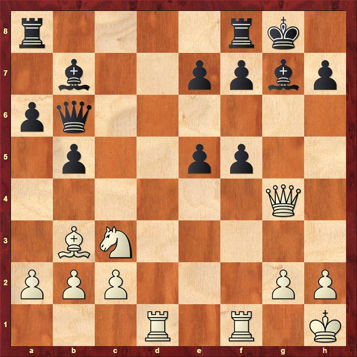 Position after 17...gxf5