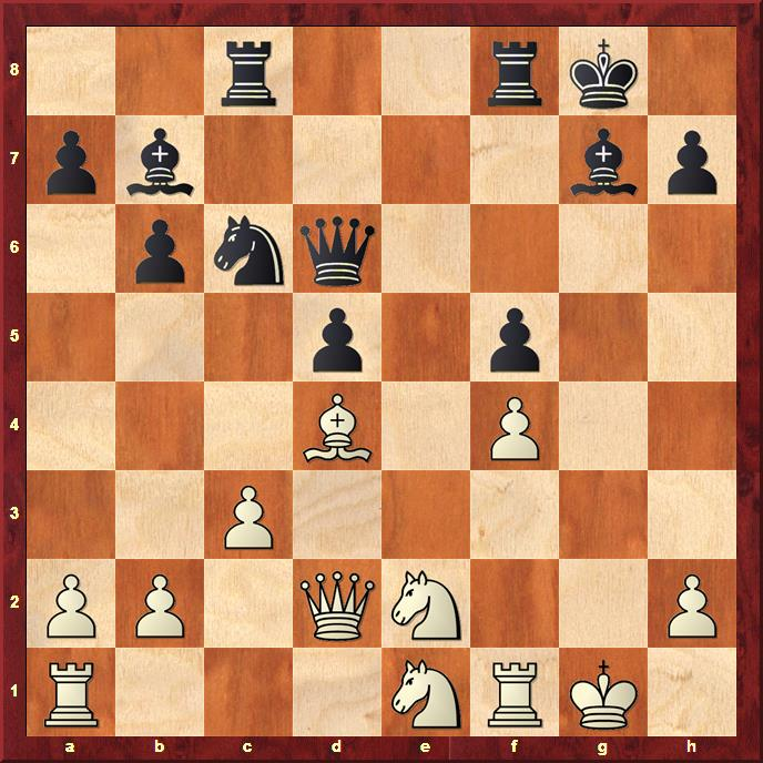 Position after 19...Qd6