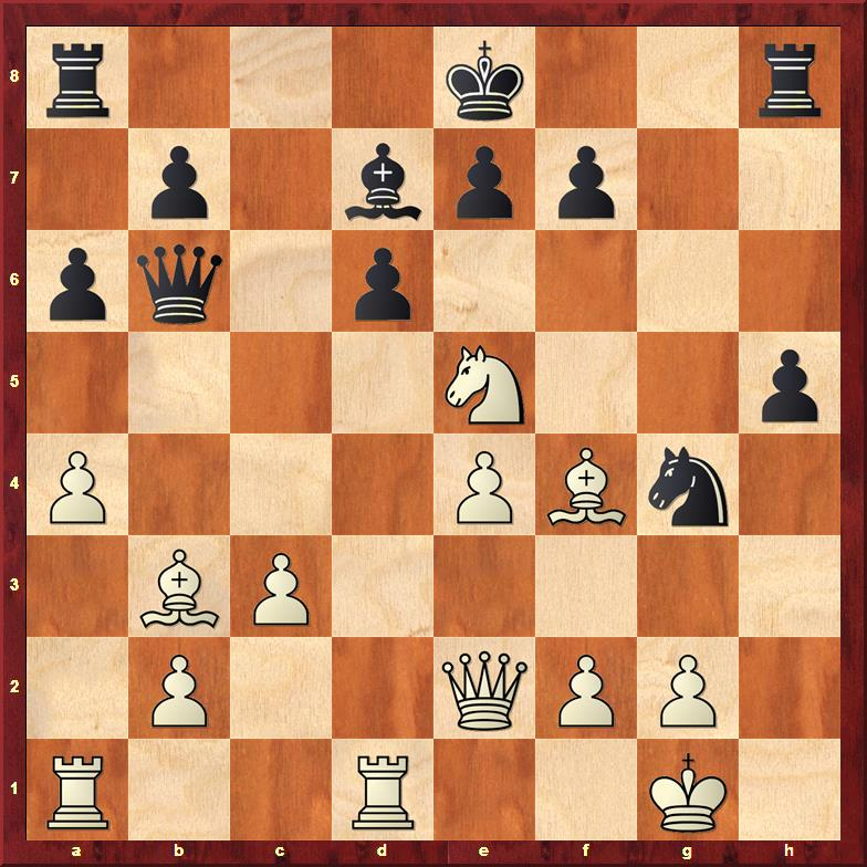 Position after 21.Nxe5