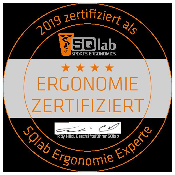 Die Radstation Bikefittery ist zertifizierter SQlab Ergonomie Experte.