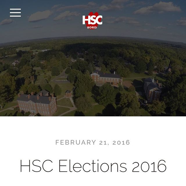 Check out the candidates for the HSC upcoming election at our website HSCBored.com under Bored Blog!