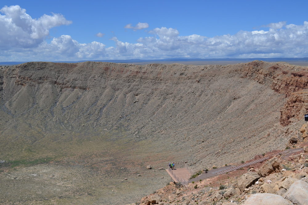Behold: Meteor crater