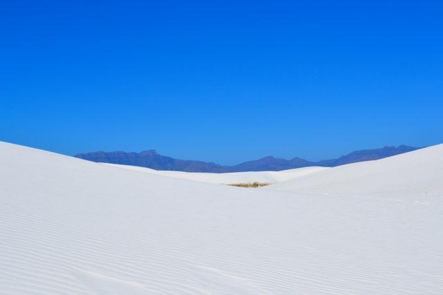 The vastness of white sands national monument