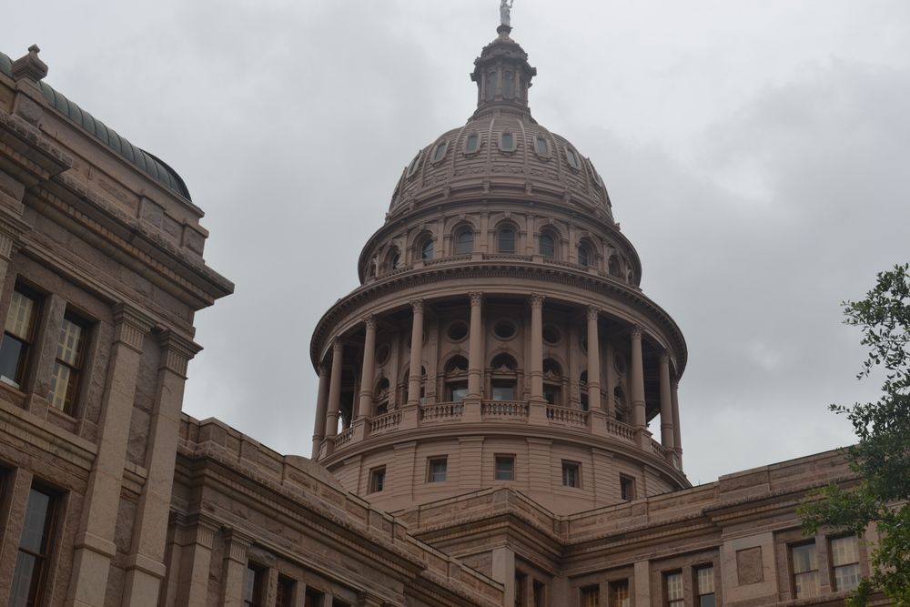 The texas capitol building