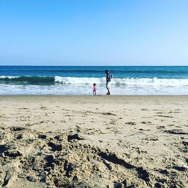 •• lovely day at the beach. •• #laborday #beachday #beach #california #family