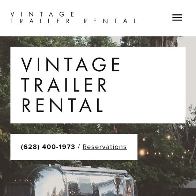 •• hey, friends! While we've been hanging out a bunch in SoCal, we decided to make Betina available for special events, photo shoots, and the like. Check out our new site and let us know what you think! It's still a work in progress. As always, spread the word! •• #vintagetrailer #airstream #events #rentme #adventure #traveltrailer #goRVing #vintage #california #weddings