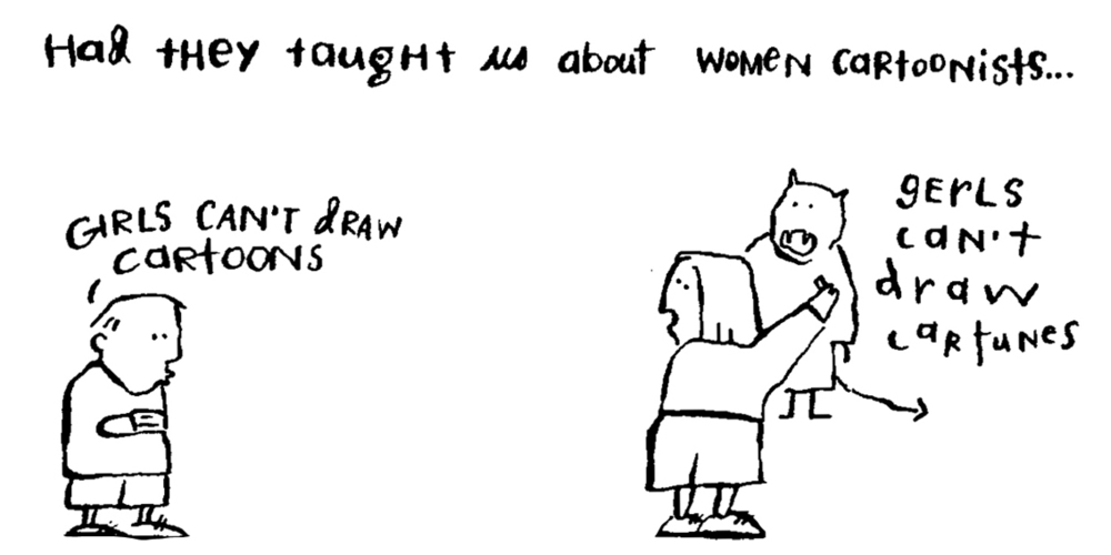 From  Why are there no women cartoonists   See Animation