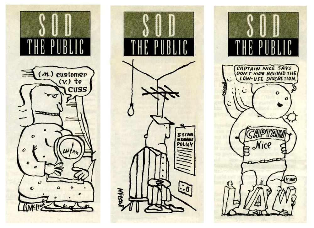 Sod the Public  Scotland on Sunday