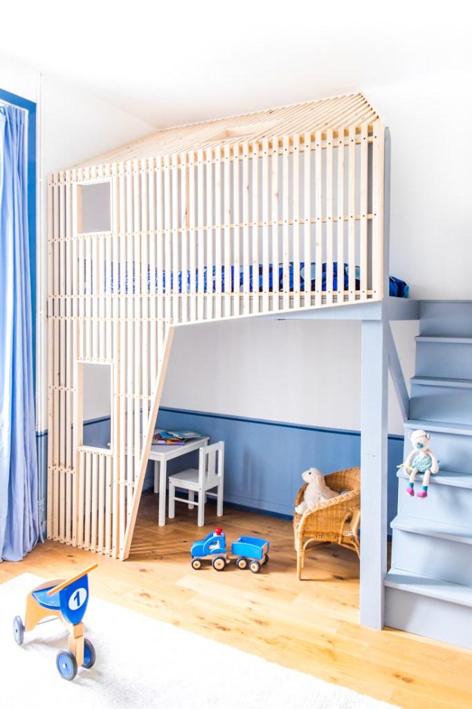 cabane bedroom