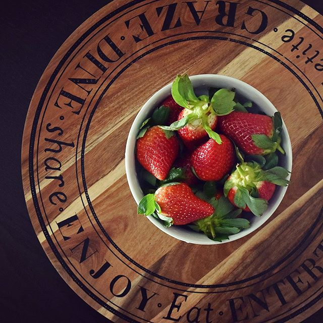 Good morning! Have a strawberry! It's those little differences that make the biggest difference at Eclat Creative. #photostudio #interiordesign #warehouse #photography #studio #lifestyle #style #design #foodie #food #strawberry #breakfast #melbourne