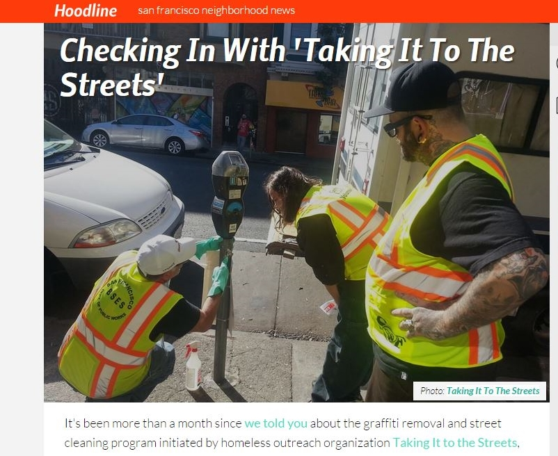 Hoodline: Checking In With Taking It To The Streets