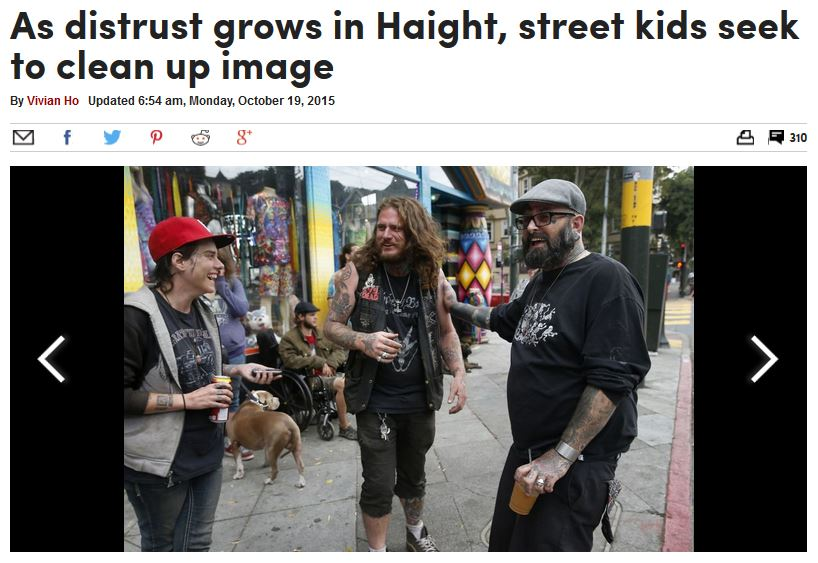 As distrust grows in Haight, street kids seek to clean up image
