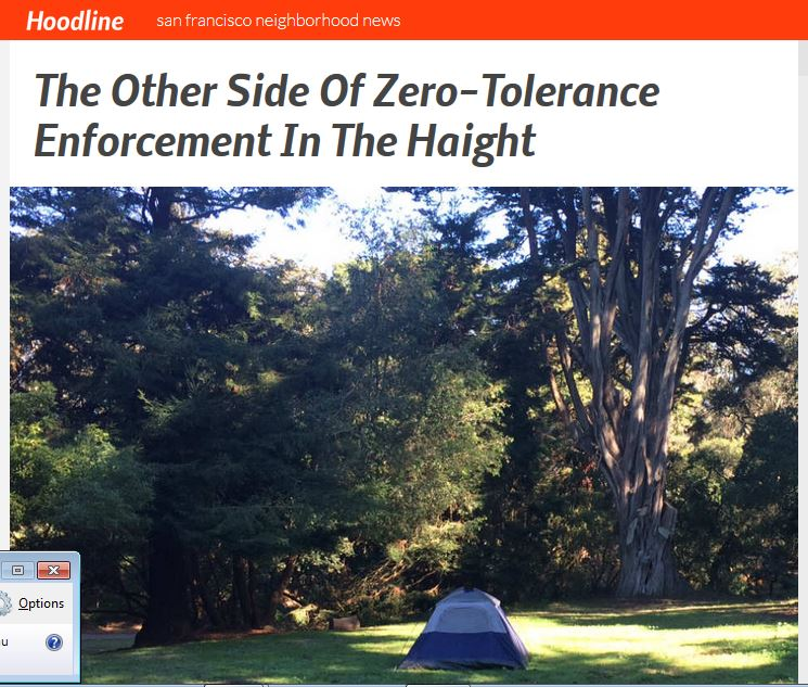 The Other Side Of Zero-Tolerance Enforcement In The Haight