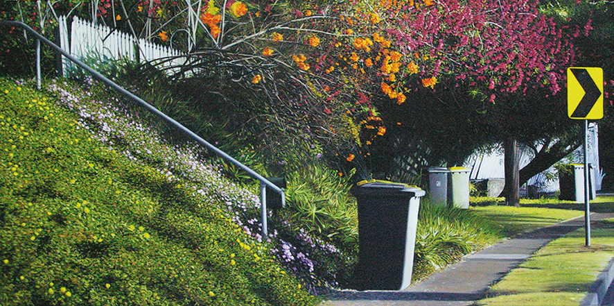 The Path Home    92x46cm Oil on Canvas SOLD