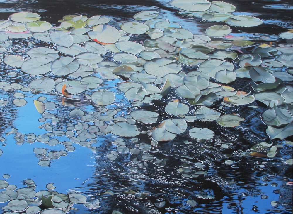 Floating  Oil on Canvas 122cm x 167cm $13,000
