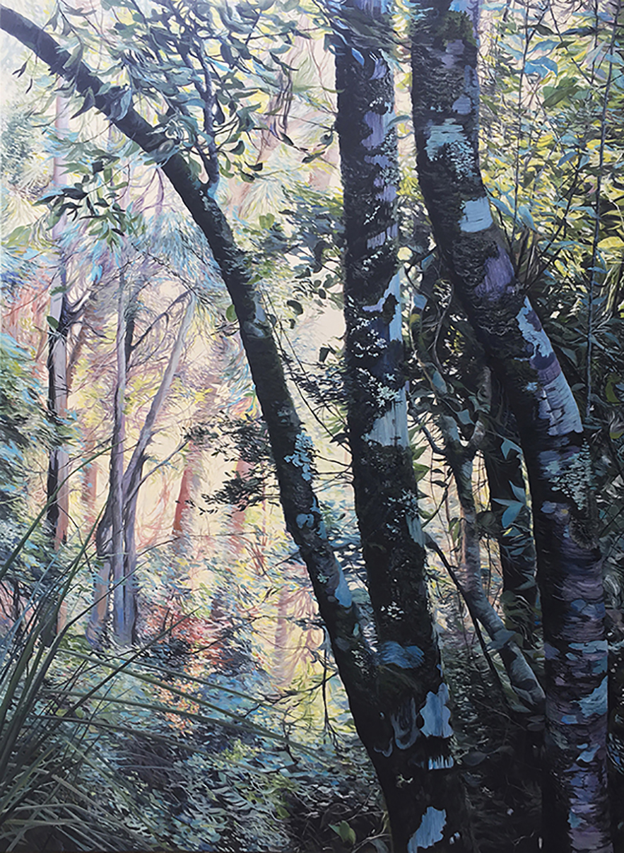 Cooling Glade  Oil on Canvas 121x163cm $13,000