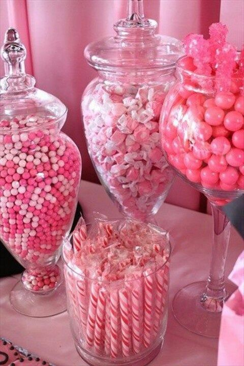 Glass Apothecary Jars for Candy Displays