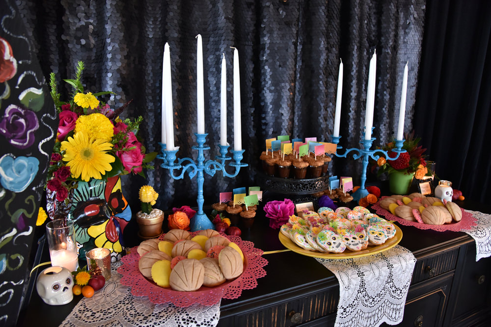 A dessert buffet decked in skulls, coffins and altar pieces worth dying for!