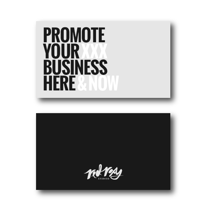 Adult Business Card Design Service