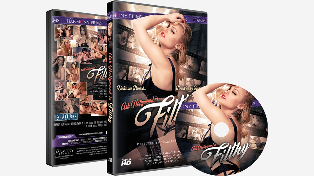Ash Hollywood Is Filthy DVD Set
