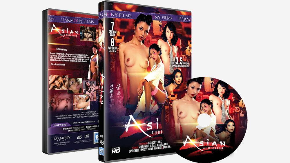 Asian Addiction DVD Set