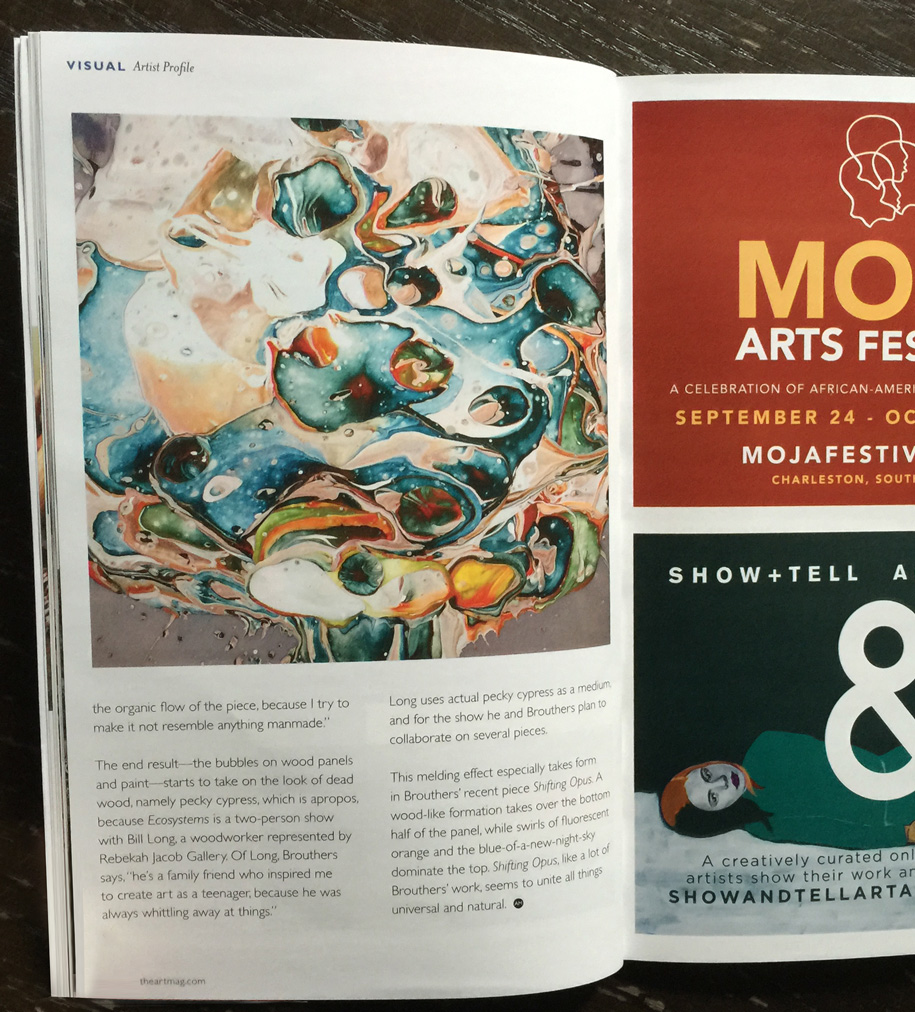 Art Mag, Charleston SC, 2015