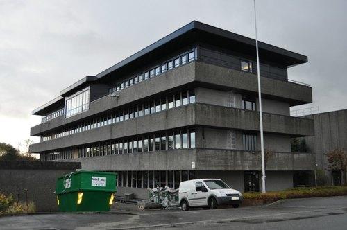 FØR: Kontorbygg i betong i Gamle Forusvei 26 i Stavanger