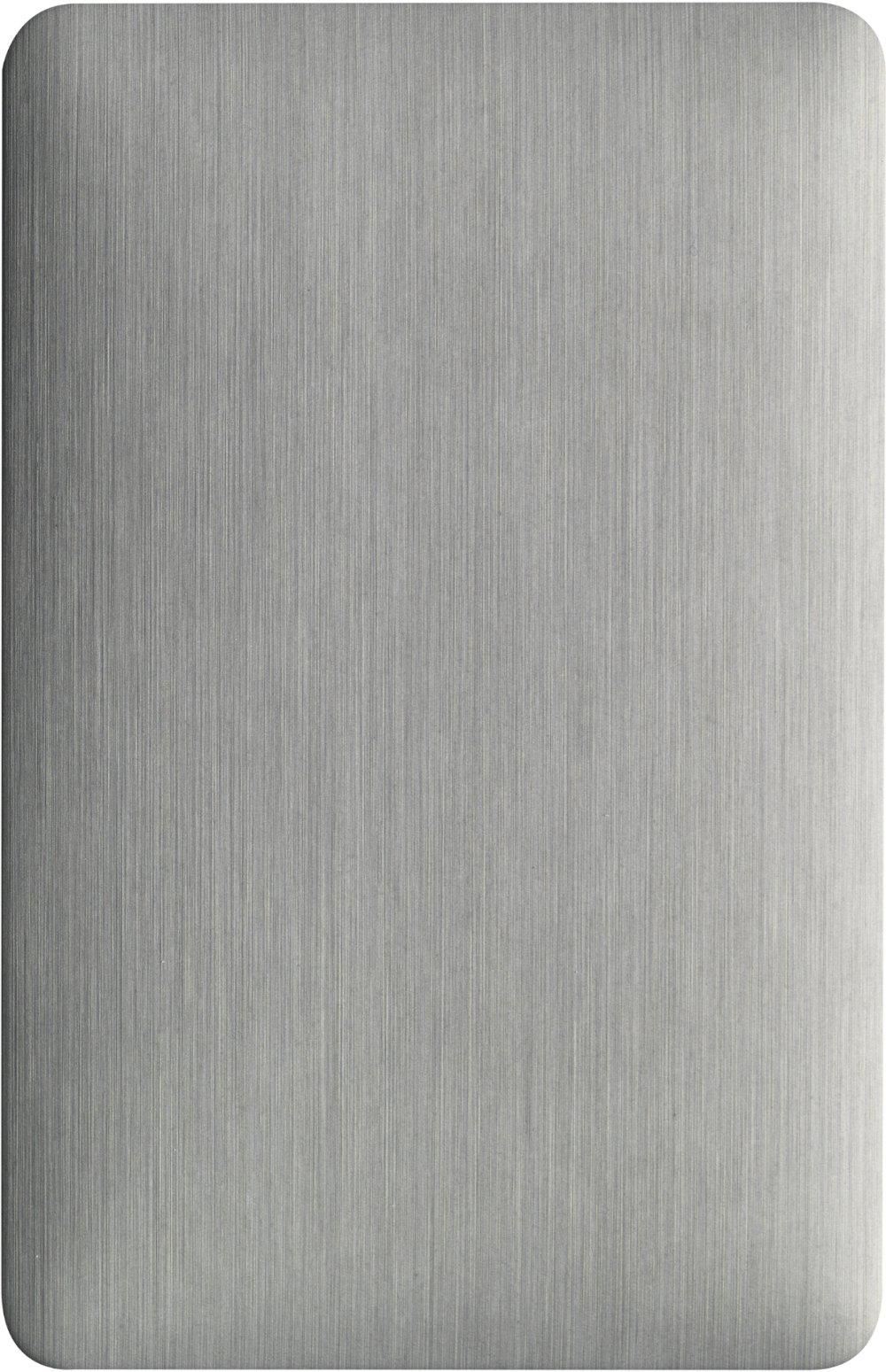 ECP AluNatur PUR-PA Titanium Brushed