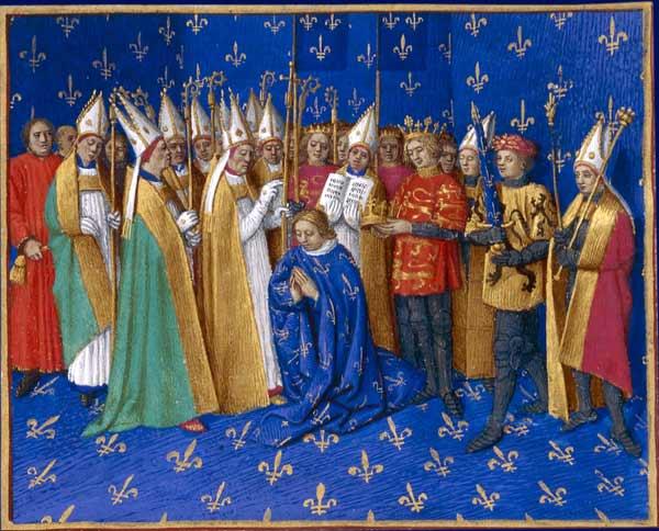 Couronnement de Philippe II