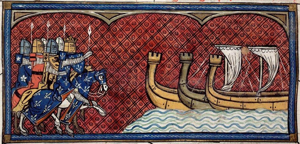 Départ pour la Troisième Croisade