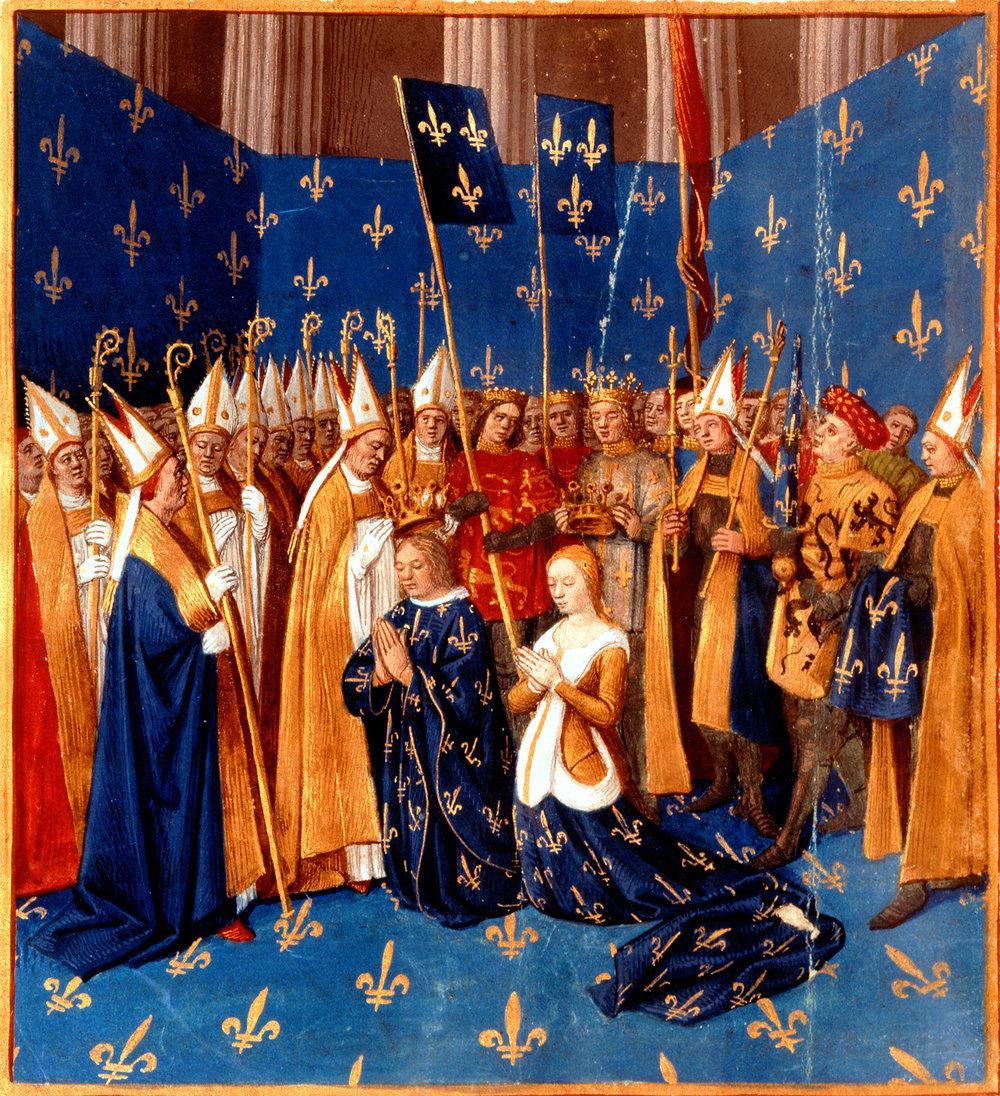 Le mariage de Blanche de Castille et Louis VIII