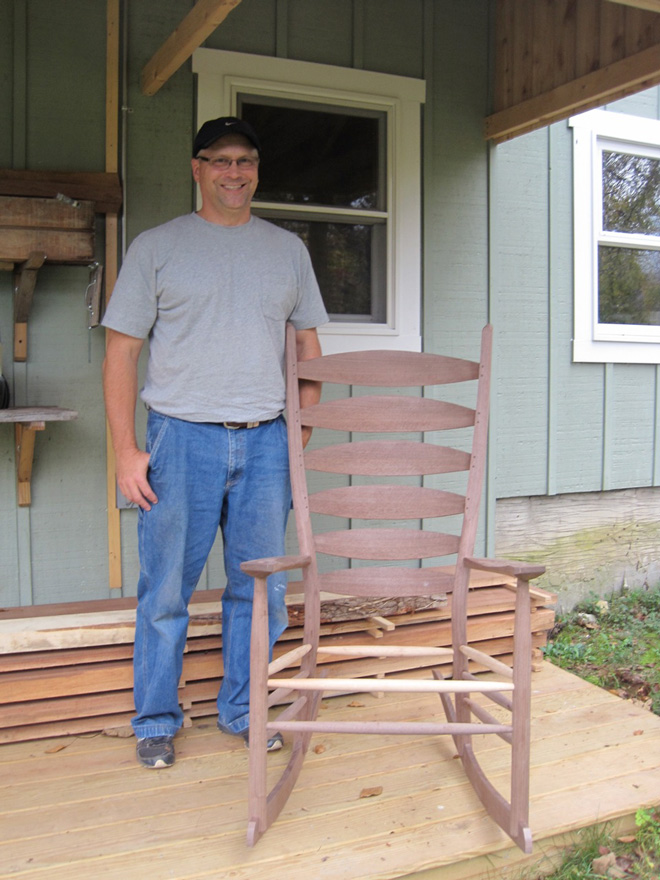 greenwood chair making course 1