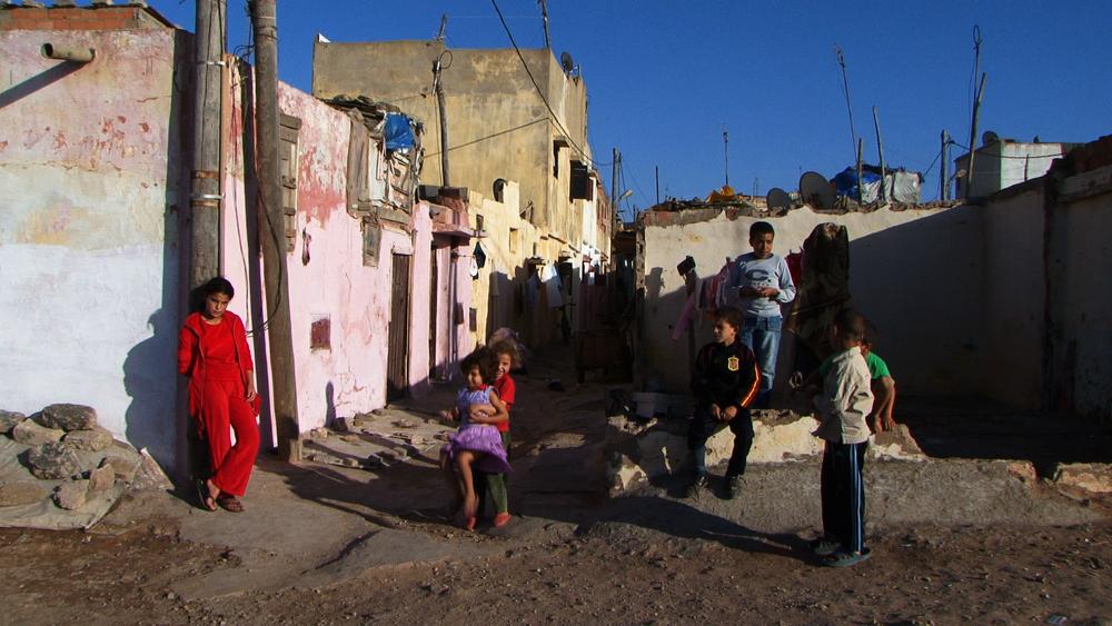 Sidi Moussir street, Salé