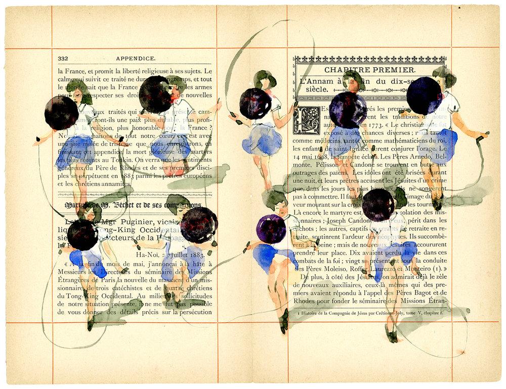 Voyage de Rhodes No.06  23.5 x 31cm