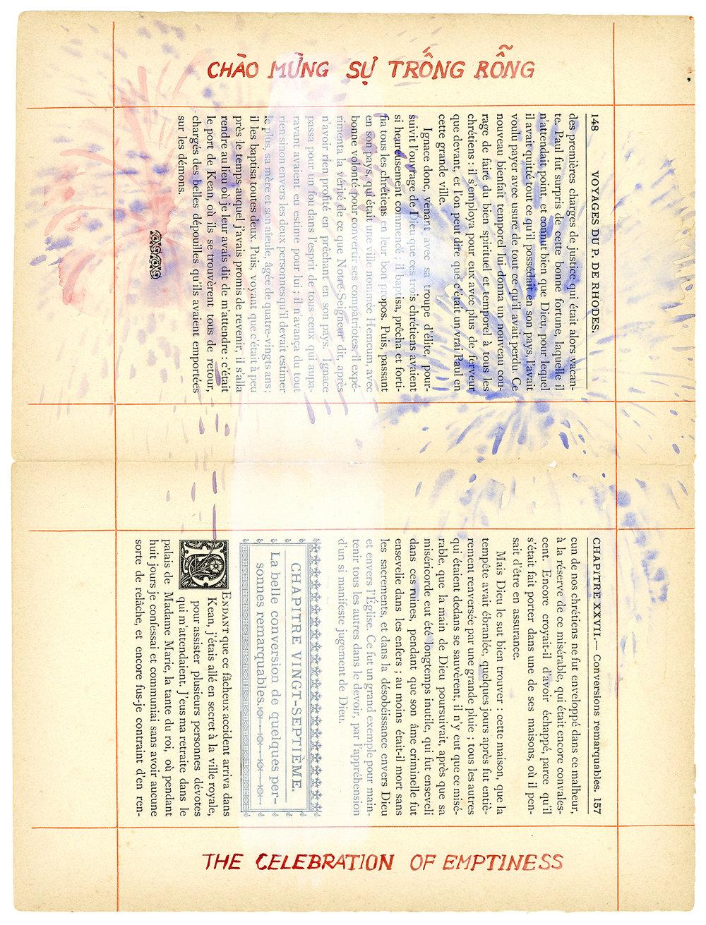 Voyage de Rhodes No.26  23.5 x 31cm