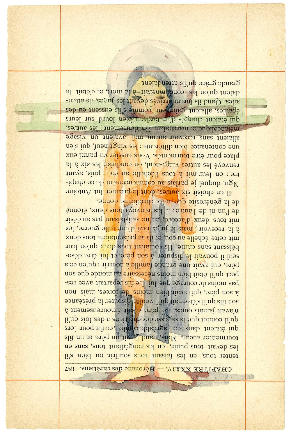 Voyage de Rhodes No.71  23.5 x 15.5cm