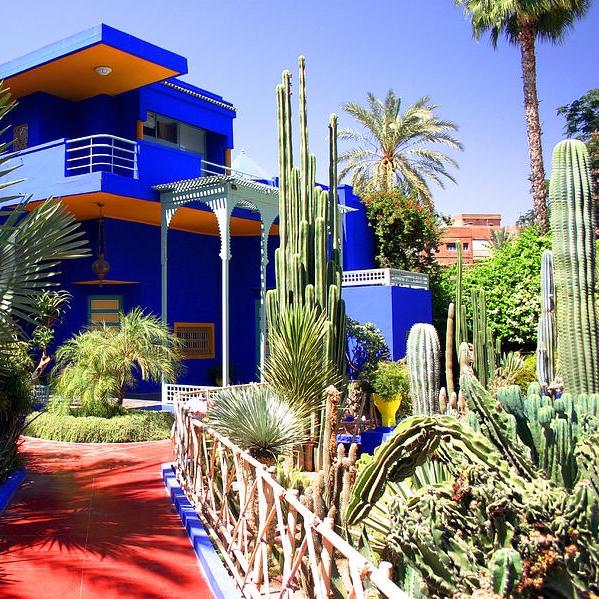 Marrakech jardin secret for Jardin yves saint laurent marrakech
