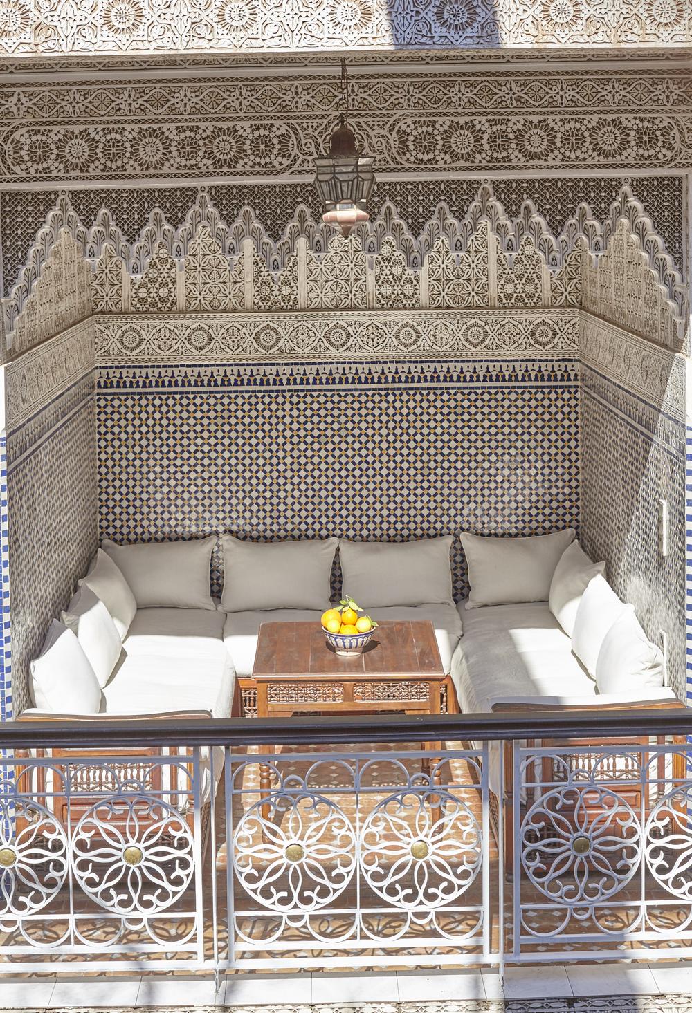 Copy of salon riad jardin secret marrakech maroc