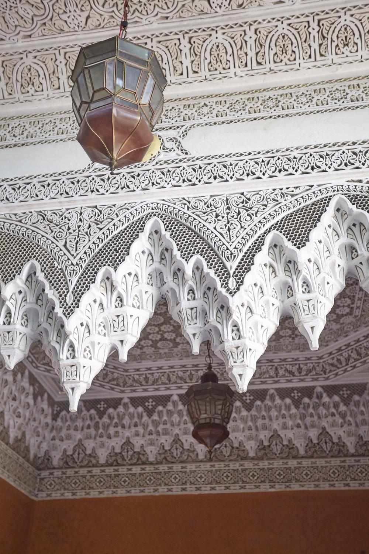 Copy of détail de zelliges - riad jardin secret marrakech maroc