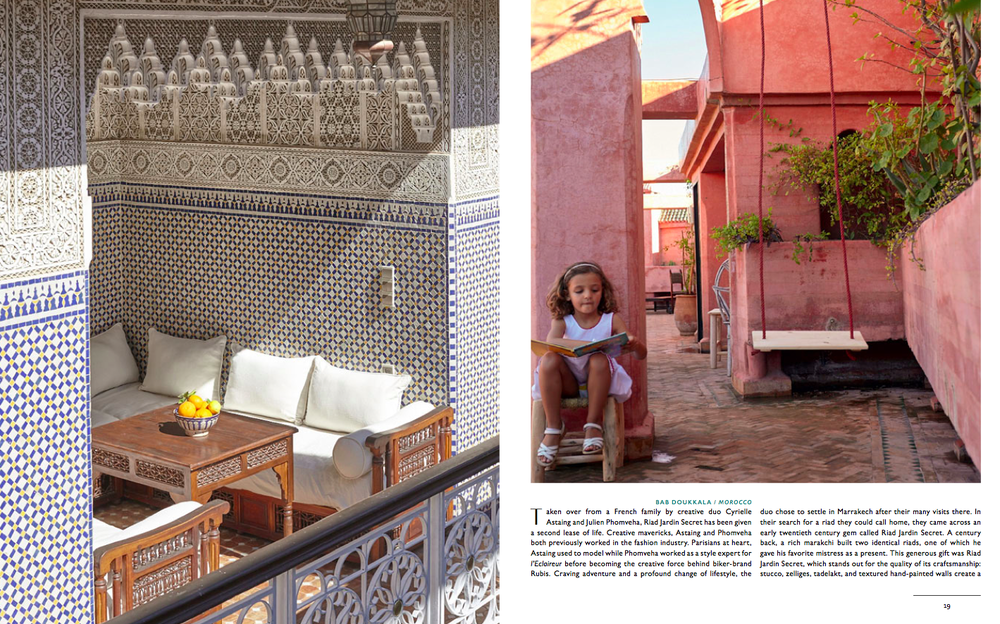 Once in a lifetime - Gestalten - Riad Jardin Secret