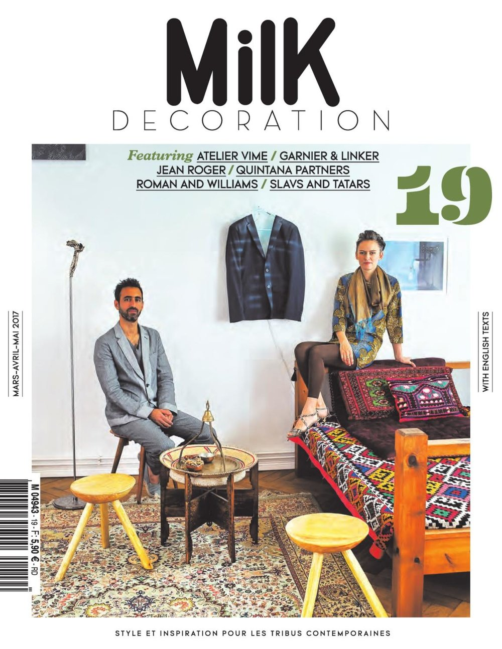 Milk Decoration cover