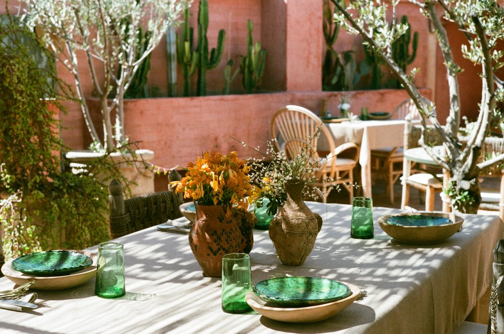 The Pink Rooftop - Riad Jardin Secret - Marrakech