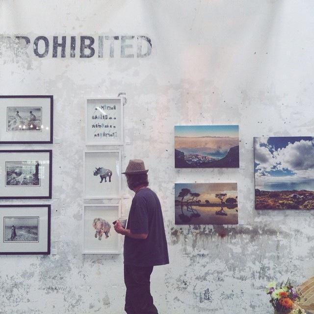 Bluebird Garage Exhibition