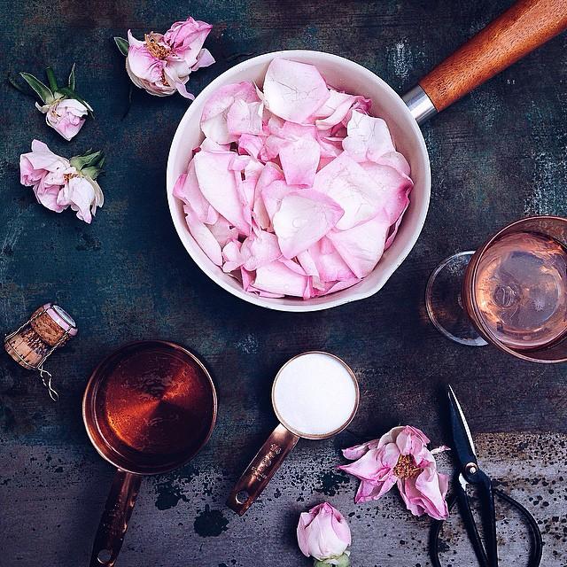 Rose Petal Syrup