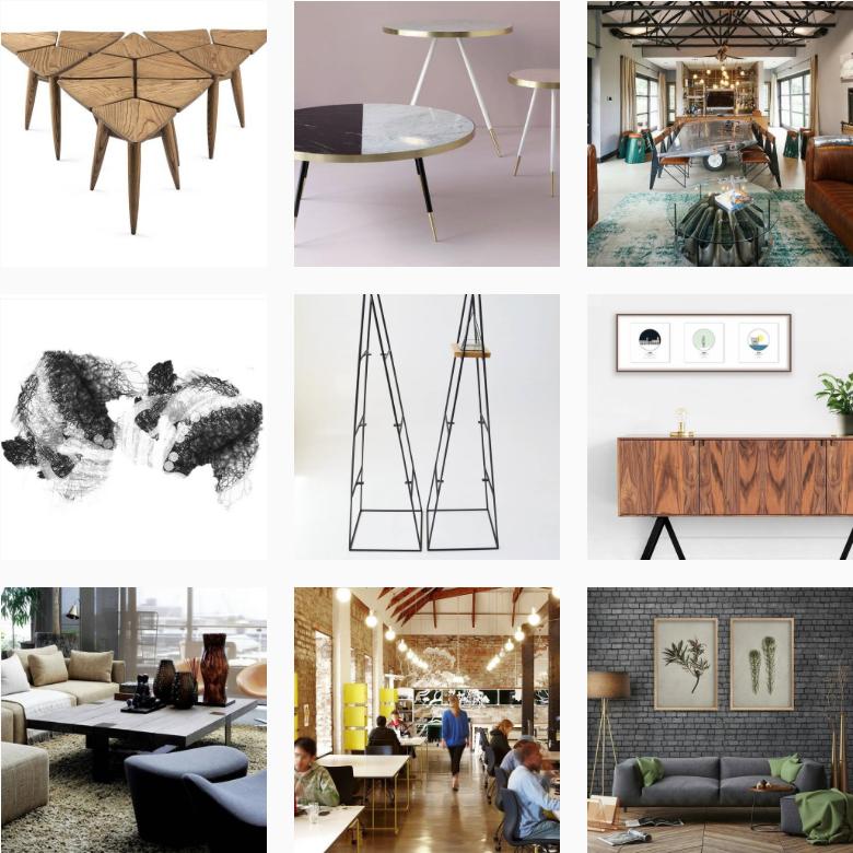 Top:  @vogel_furnituredesign ; @bethangray ; @wendy_lee.douglas   Middle:  @caitlinmkhasibe ;   @iltorokraft ;   @city_ness   Bottom:   @fibre_designs ; @haldanemartin ; @nataschavniekerk